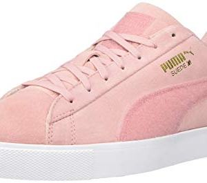 PUMA Golf Men's Suede G Patch LE Golf Shoe, Bridal Rose
