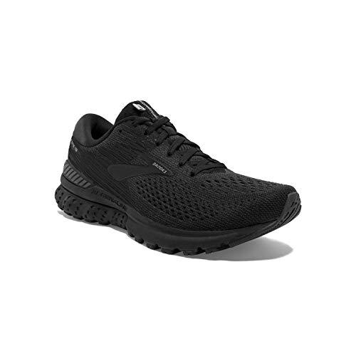 Brooks Mens Adrenaline Running Shoe - Black/Ebony