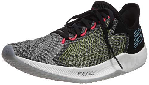 New Balance Men's Rebel V1 FuelCell Running Shoe, Black/Multicolor