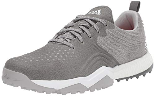 adidas Men's Adipower S Golf Shoe, Grey Two/Grey Four/raw Amber