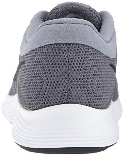 Nike Men's Revolution Running Shoe, Dark Grey/Black-Cool Grey/White Nike Men's Revolution 4 Running Shoe, Dark Grey/Black-Cool Grey/White, 9.5 Regular US.
