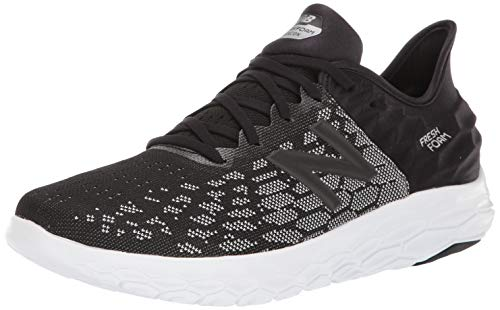 New Balance Men's Beacon V2 Fresh Foam Running Shoe, Black/ORCA