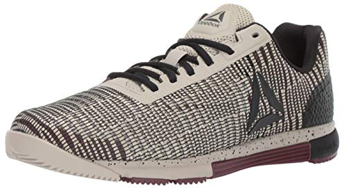 Reebok Men's Speed TR FLEXWEAVE, Light Sand/Mineral dust/Black
