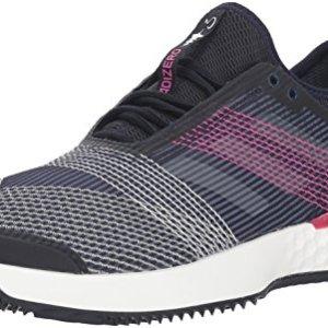 adidas Men's Adizero Ubersonic 3 Clay Tennis Shoe, Legend Ink/White/Shock Pink