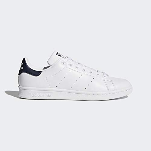 adidas Originals Men's Stan Smith Leather Sneaker, White Running White Classic Stan Smith sneaker that includes lace-up vamp and coated eyelets;Pimple outsole for grip Synthetic lining. Pimple outsole for grip Back within the day, Stan Smith received huge on the tennis court docket. The shoe that bears his title has been successful on the streets ever since. Top to backside, these males's sneakers seize the important type of the 1972 authentic, with the clever leather-based construct, low-profile cupsole and clear trim which have at all times been its hallmark.