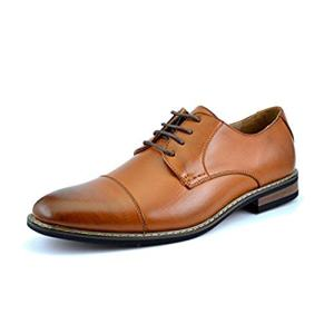 Bruno HOMME MODA ITALY PRINCE Men's Classic Modern Oxford Wingtip
