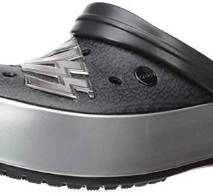 Crocs Crocband Platform KISS Clog, black/silver