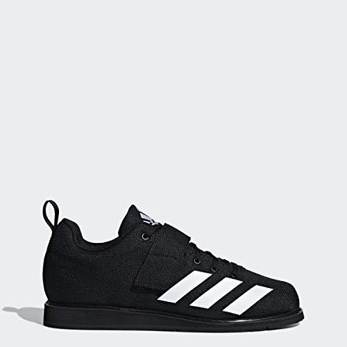 adidas Men's Powerlift 4 Weightlifting Shoe, Black/White/Black