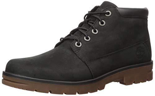 Timberland Men's Newtonbrook Plain Toe Chukka Boot, Black Nubuck