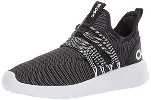 adidas Men's Lite Racer Adapt Running Shoe, black/black/grey