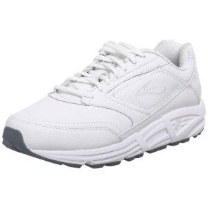 Brooks Men 's Addiction Walker Walking Zapato, color Blanco