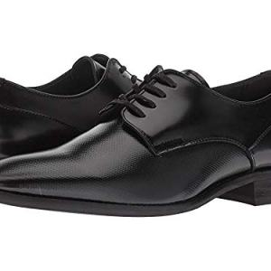 Calvin Klein Men's Ripley Oxford Flat, Black