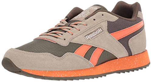 Reebok Men's Classic Harman Run Sneaker, Army Green/Fieora