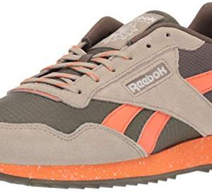 Reebok Men's Classic Harman Run Sneaker, Army Green/Fieora