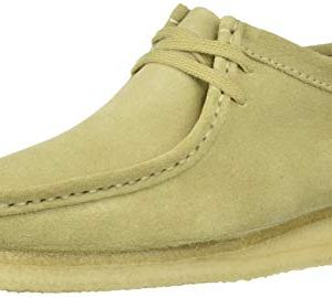 Clarks Men's Wallabee Moccasin, Maple Suede