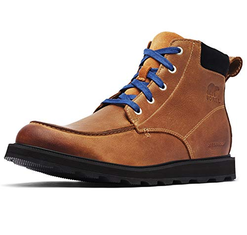 Sorel - Men's Madson Moc Toe Waterproof Boot, All-Weather Footwear