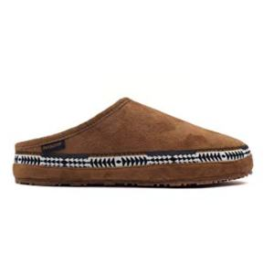 Pendleton Men's Porch Mule Washable Microsuede Slipper Toasted Coconut
