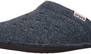 Crocs Classic Slipper Mule, Nautical Navy/Oatmeal