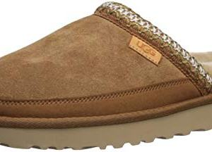 UGG Men's Tasman Slip-ON Slipper, Chestnut, 12 M US