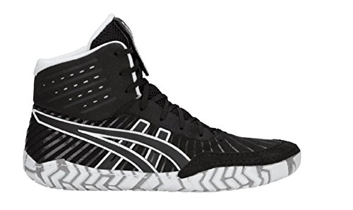 ASICS Aggressor 4 Men's Wrestling Shoes, Black/Black