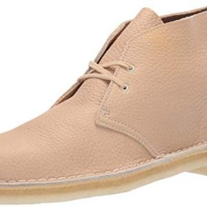 Clarks Men's Desert Chukka Boot, Off Off White Leather