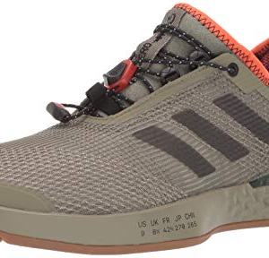 adidas Men's Adizero Ubersonic 3 Citified, raw Khaki/Night Metallic/True Orange