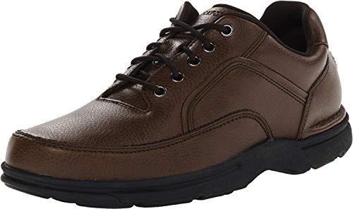 Rockport Men's Eureka Walking Shoe Oxford, Brown