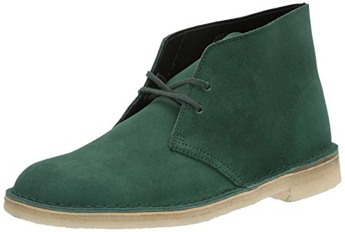 Clarks Men's Desert Chukka Boot, Forest Green Suede