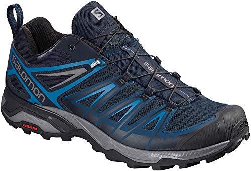Salomon Men's X Ultra 3 Hiking Shoes, Poseidon/Indigo Bunting/Quiet Shade