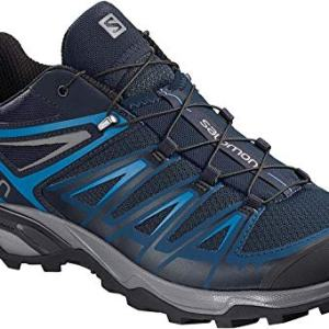 Salomon Men's X Ultra 3 Hiking Shoes, Poseidon/Indigo Bunting/Quiet Shade