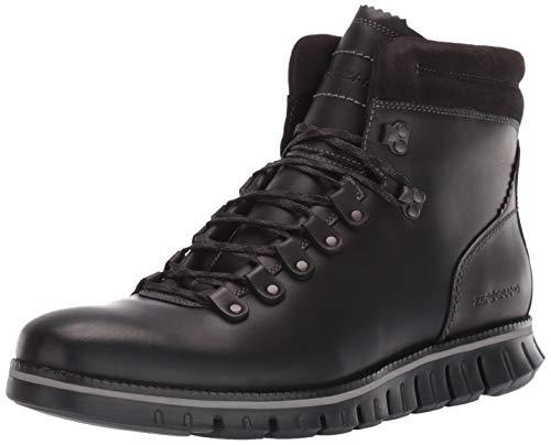 Cole Haan Men's Zerogrand Hiker Waterproof Hiking Boot, Wp Black Leather