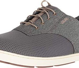 OLUKAI Men's Nohea Moku Shoe, Charcoal/Clay