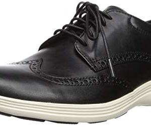 Cole Haan Grand Tour Wing Ox Black Leather/Ivory