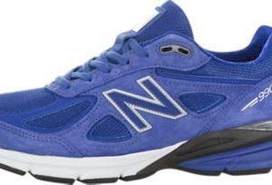 New Balance Men's Running Shoe, UV Blue/Silver