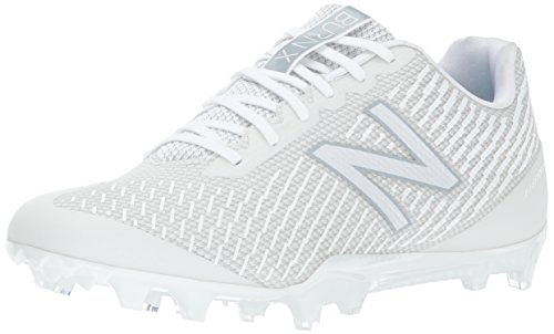 New Balance Men's BURN Low Speed Lacrosse Shoe, White