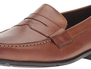 Rockport Men's Classic Lite Penny Loafer, Cognac