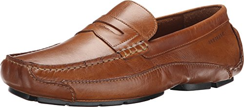 Rockport Men's Luxury Cruise Penny Tan Loafer , Tan