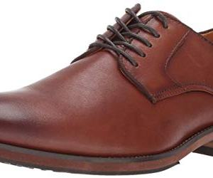Florsheim Men's Spark Dress Casual Plain Toe Oxford, Cognac
