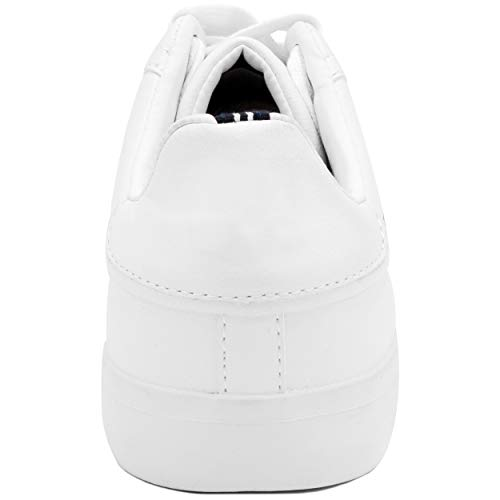 Nautica Men's Townsend Casual Lace-Up Shoe,Classic Low Top Loafer Nautica Men's Townsend Casual Lace-Up Shoe,Classic Low Top Loafer, Fashion Sneaker-White/Navy-11.