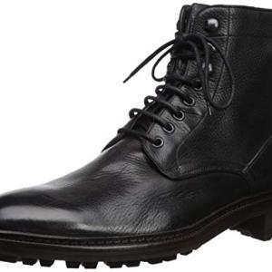Frye Men's Greyson LACE UP Combat Boot, black