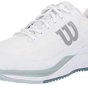 Wilson RUSH PRO 3.0 Tennis Shoes, White/Pearl Blue/Bluestone