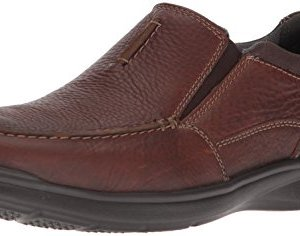 CLARKS Men's Cotrell Free Loafer, Tobacco Leather