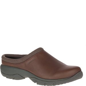 Merrell Men's Encore REXTON Leather AC+ Clog, Dark Earth, 10.5 M US