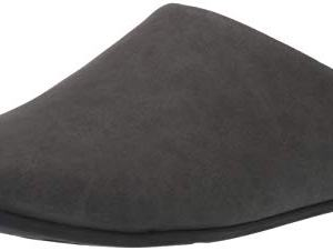 FitFlop Men's Slipper Shove Mule, Black, 10 M US