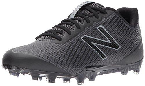 New Balance Men's BURN Low Speed Lacrosse Shoe, Black
