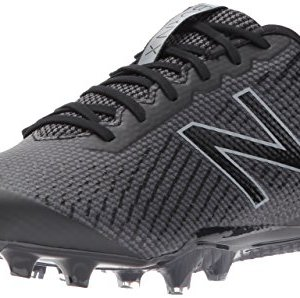 New Balance Men's BURN Low Speed Lacrosse Shoe, Black