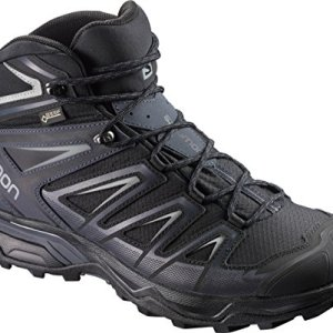 Salomon Men's X Ultra 3 Mid GTX Hiking Boots, Black/India Ink/Monument