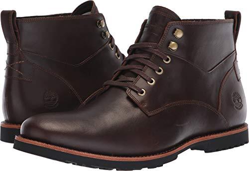 Timberland Kendrick Waterproof Chukka Boot - Men's Dark Brown Full Grain