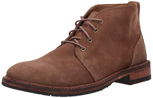 Clarks Men's Clarkdale Base Chukka Boot, Taupe Suede