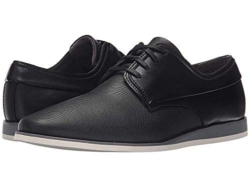 Calvin Klein Men's Kellen Emboss Leather Slip-On Loafer, Black